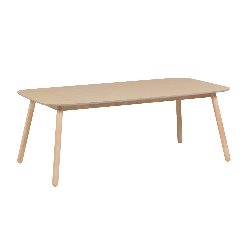 Mesa de jantar Matilde, madeira de seringueira, 140x70