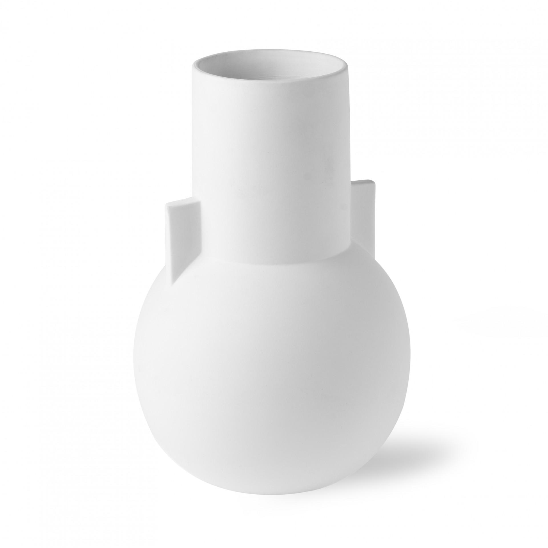 Jarra Reali, branco, Ø18x26