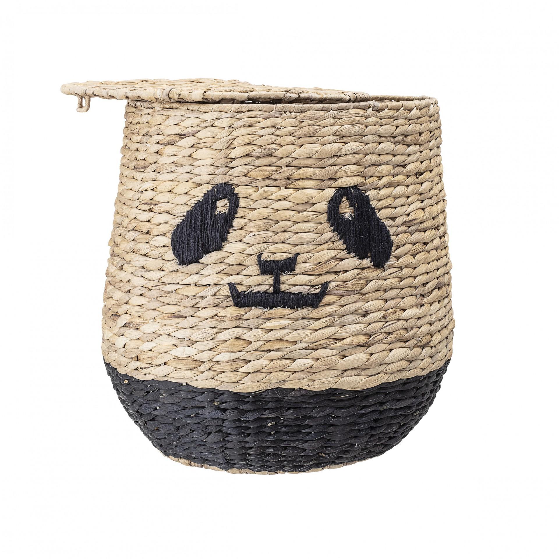 Cesto Panda, jacinto-de-água, Ø36x42