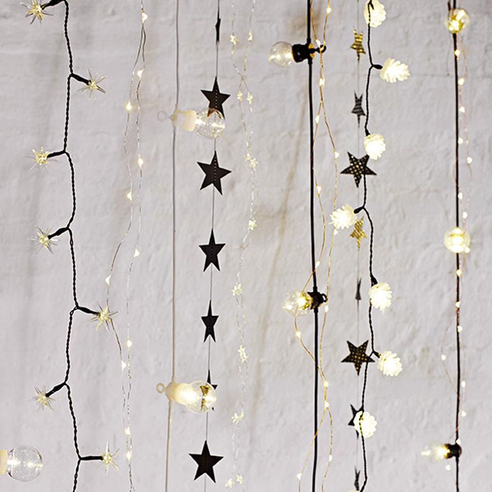 Luzes decorativas, 4,20x metros