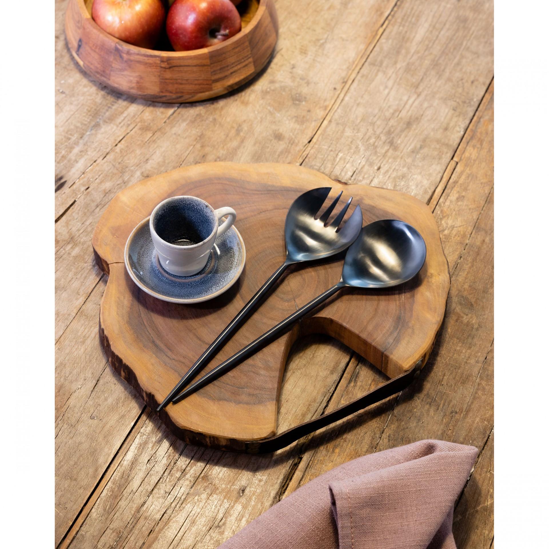 Tábua de cozinha Lidy, madeira de acácia, Ø33cm
