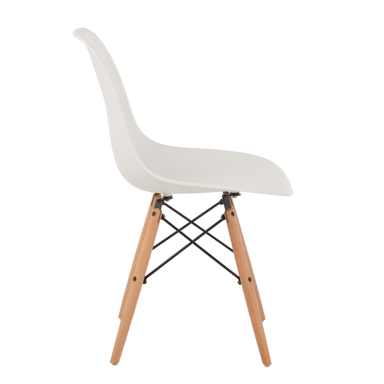 Cadeira Eames DSW, branco, 46x50x82