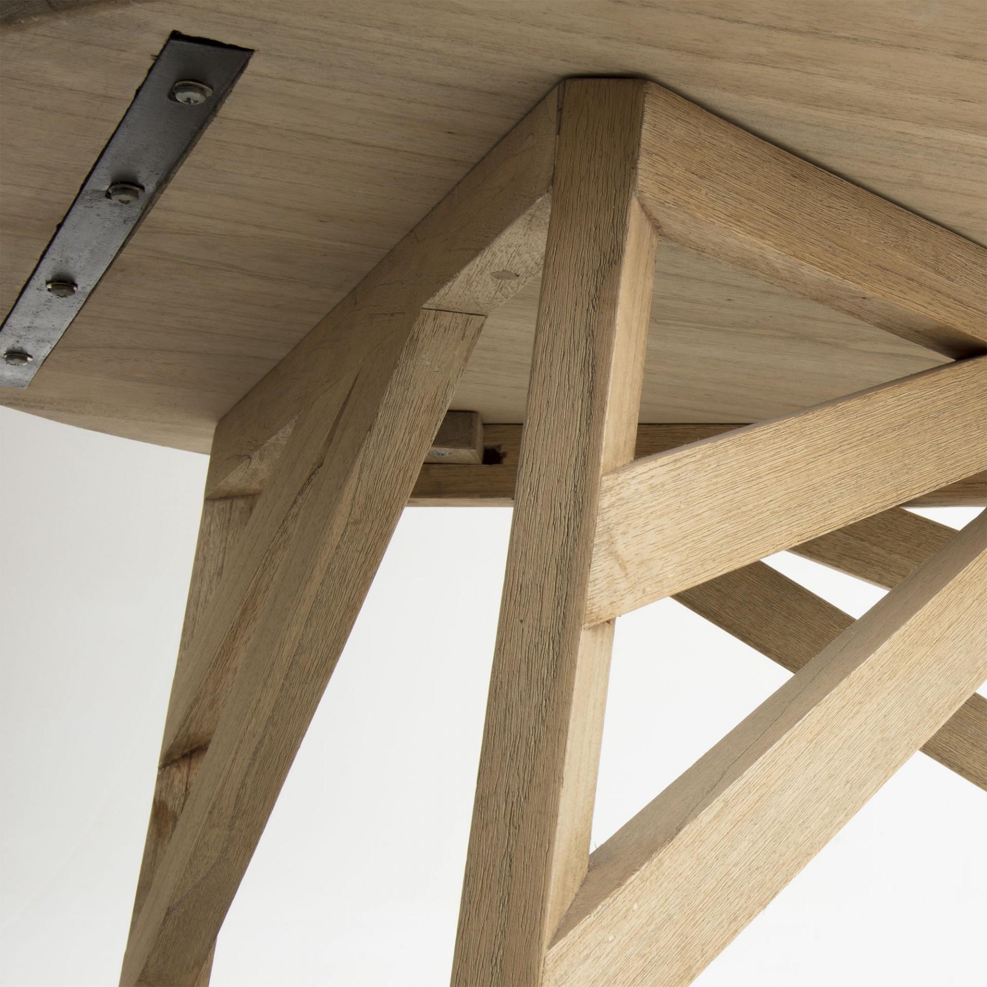 Mesa de centro Tend, madeira mindi, Ø81x42