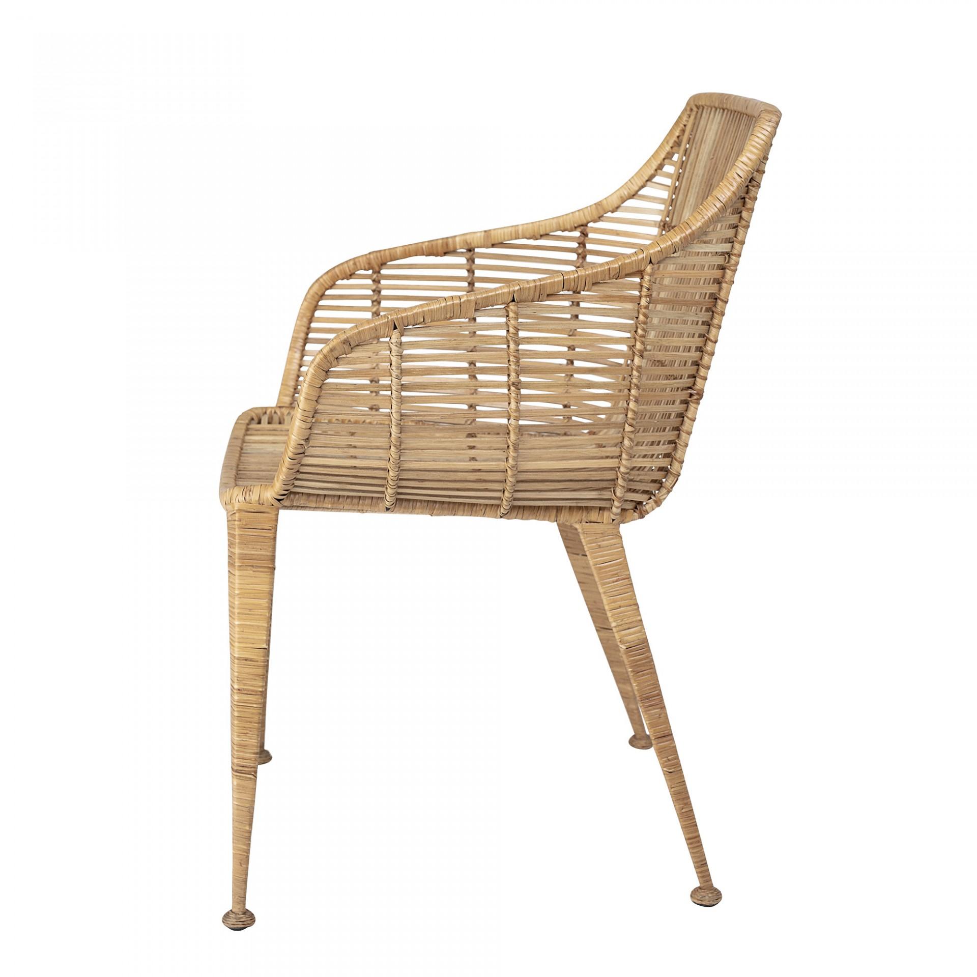 Cadeira Amira, rattan natural