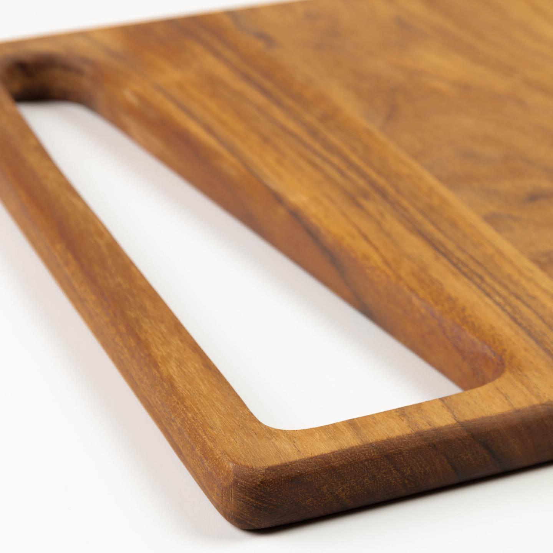 Tábua de cozinha Serid, madeira de acácia, 30x30
