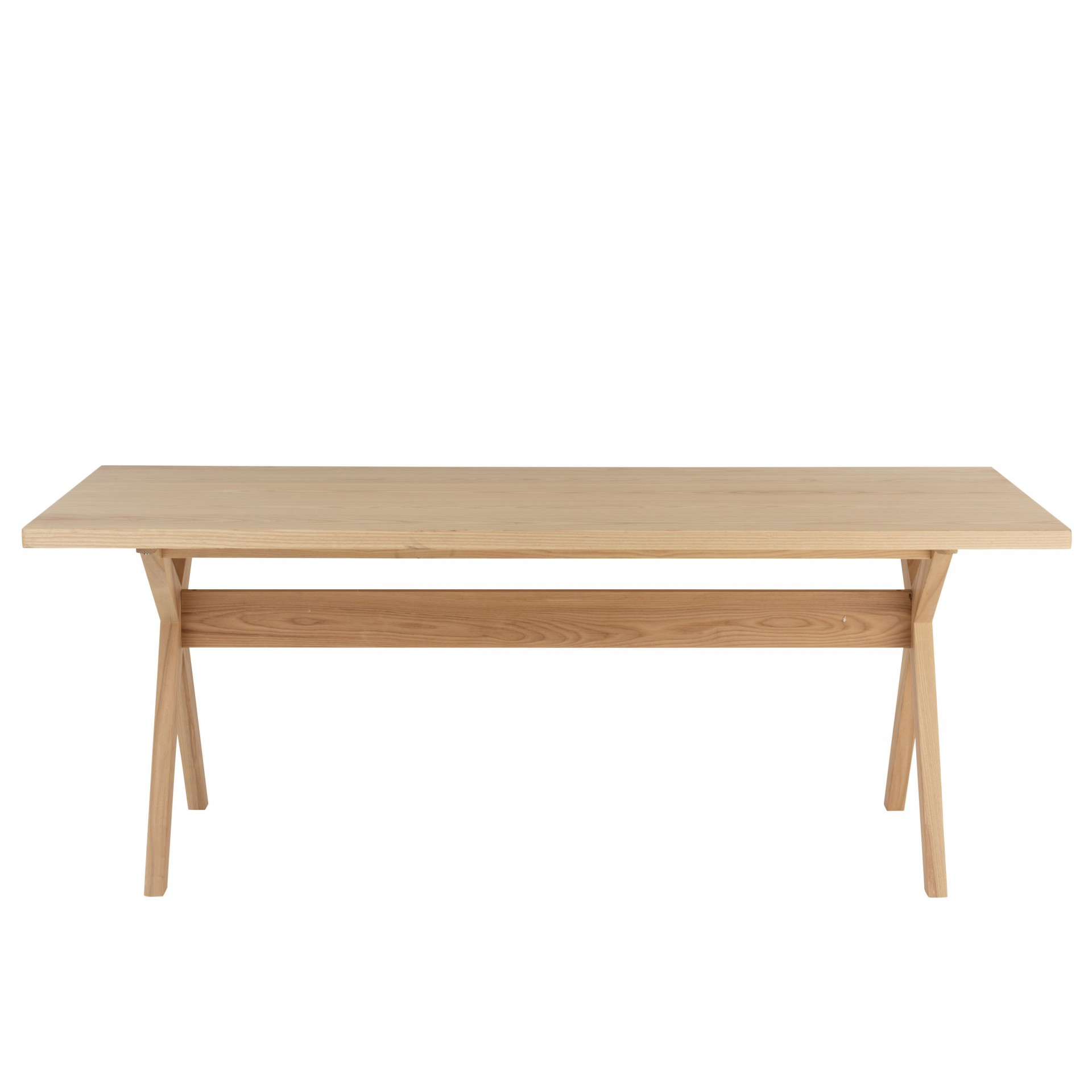 Mesa de jantar Scandi, madeira de pinho, 200x90