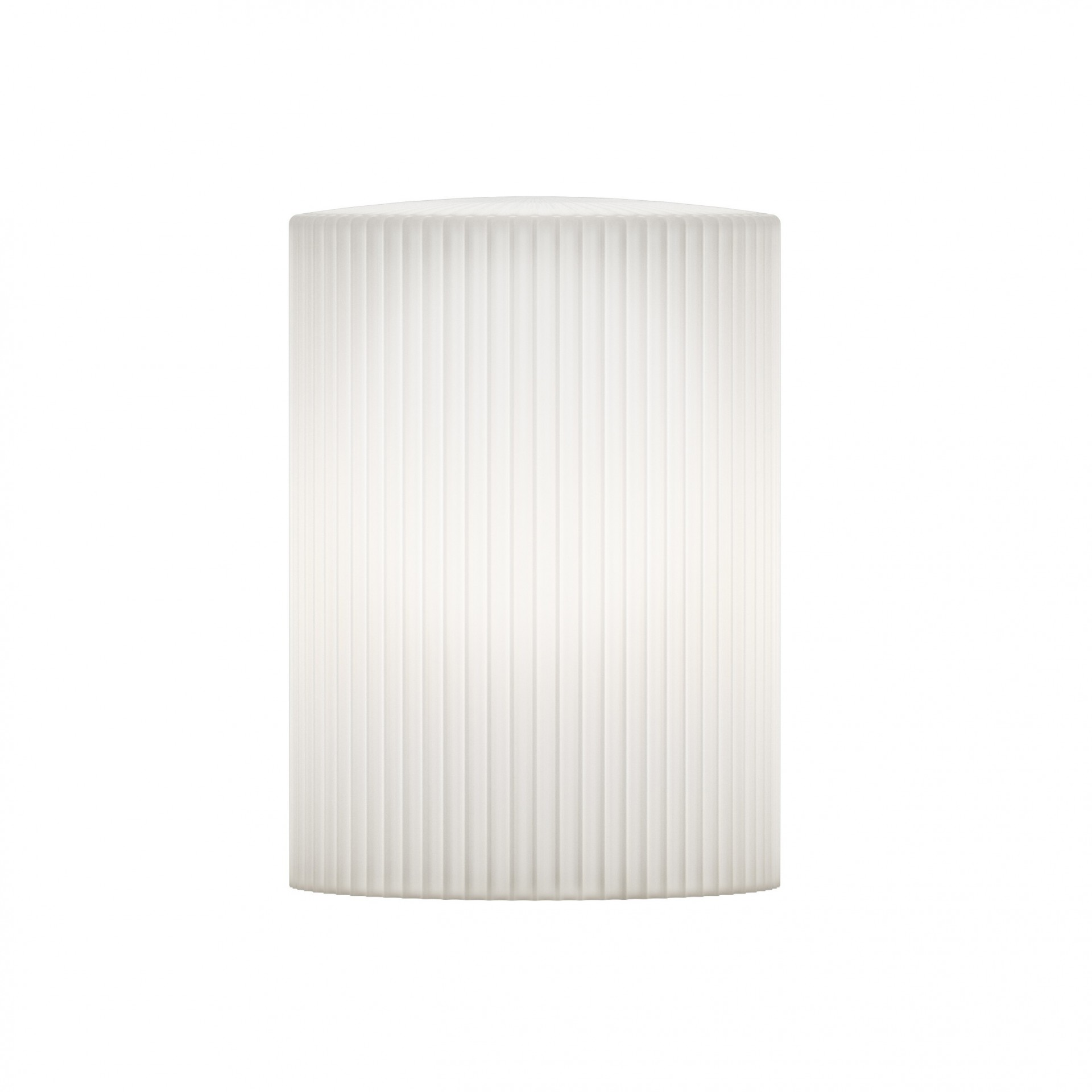 Candeeiro de tecto Riplles Cusp, branco, Ø15x21