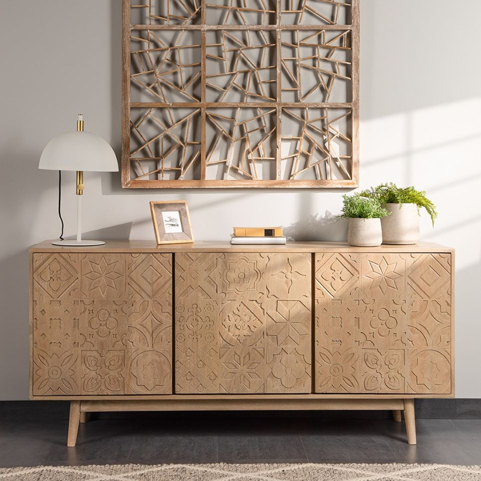 Candeeiro de mesa Sina, metal, branco/dourado, Ø31x50