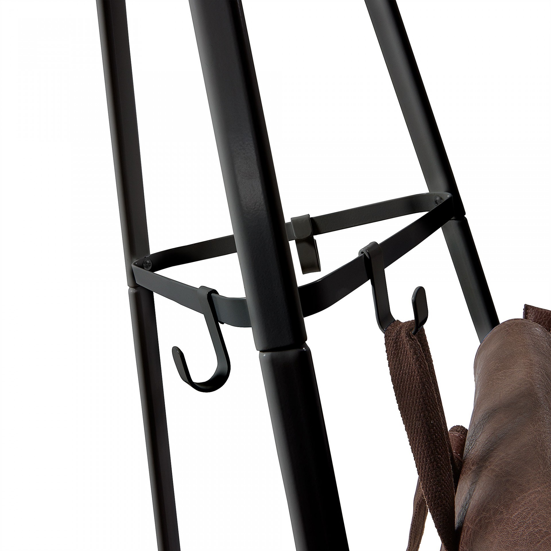 Cabide de pé Steen, metal, 50x183