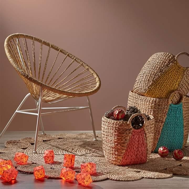 Cadeira Sunshine, rattan sintético