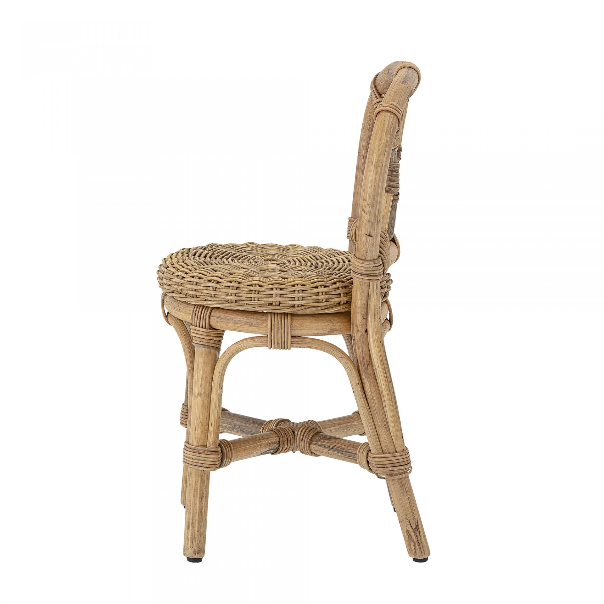 Cadeira infantil, rattan natural