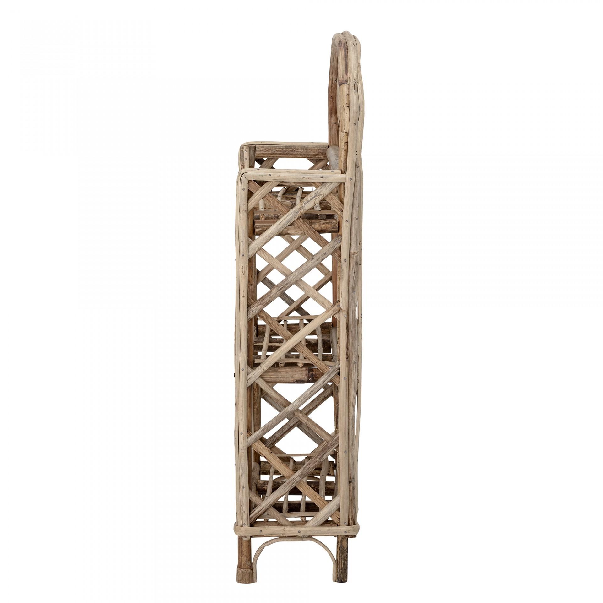 Estante Boho, cana de bambu, 42x63