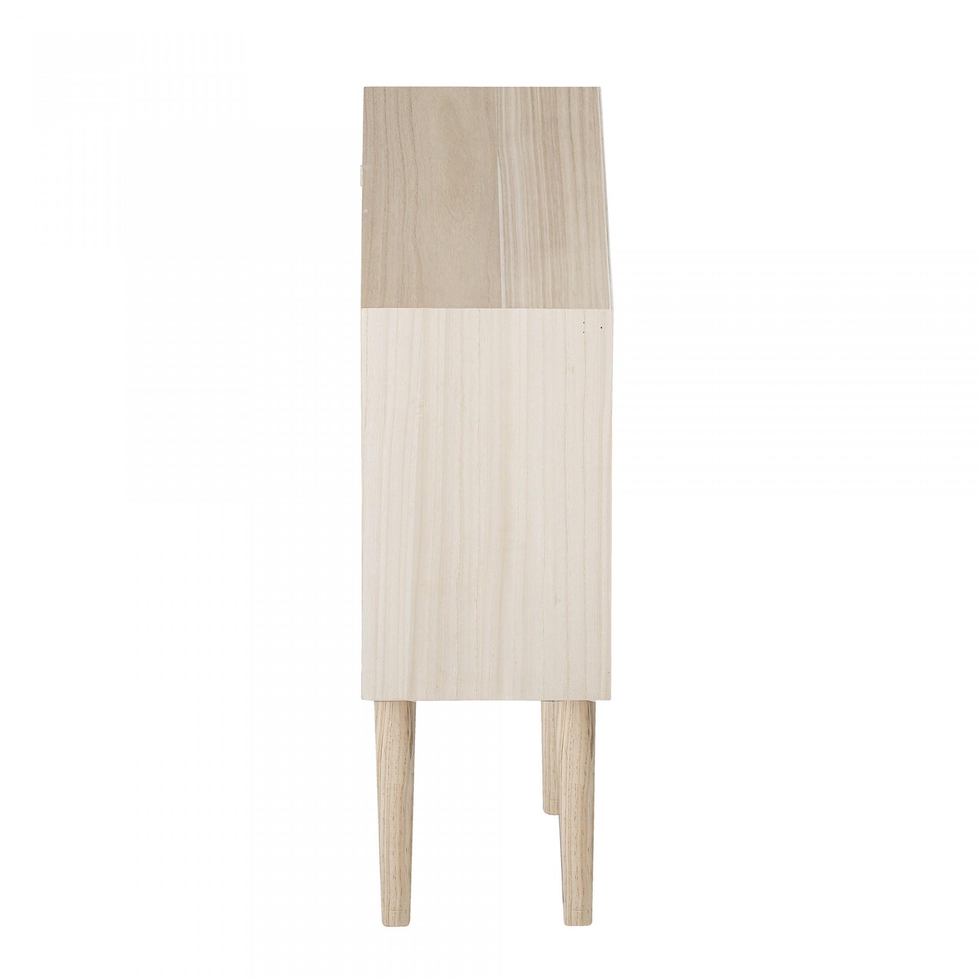Estante infantil Dollhouse, madeira de pinho/Paulownia