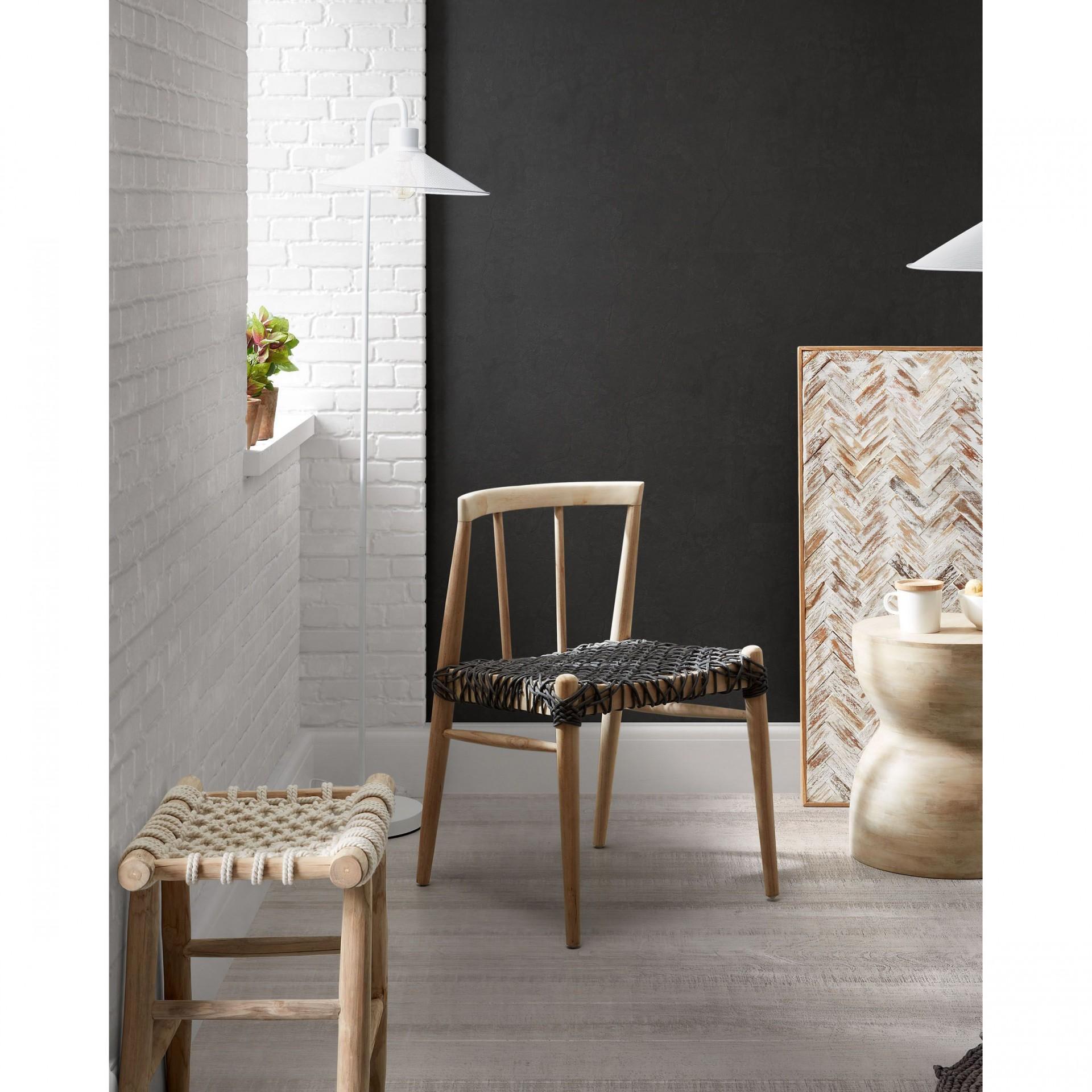 Mesa de apoio Mary, madeira de manga natural, Ø40x45