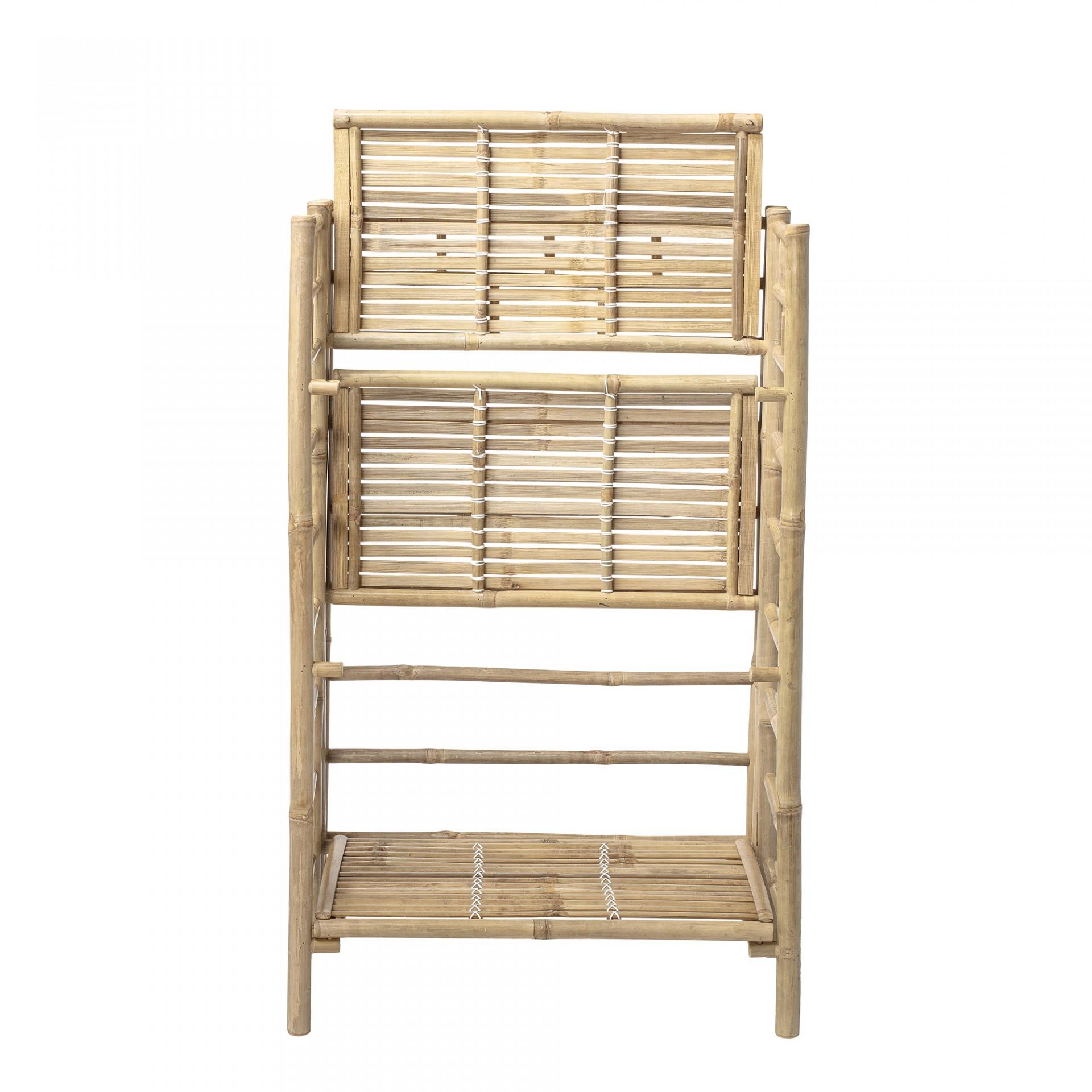 Estante Buck, cana de bambu, 66x105