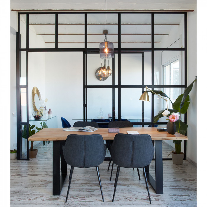 Mesa de jantar Talya, madeira de acácia
