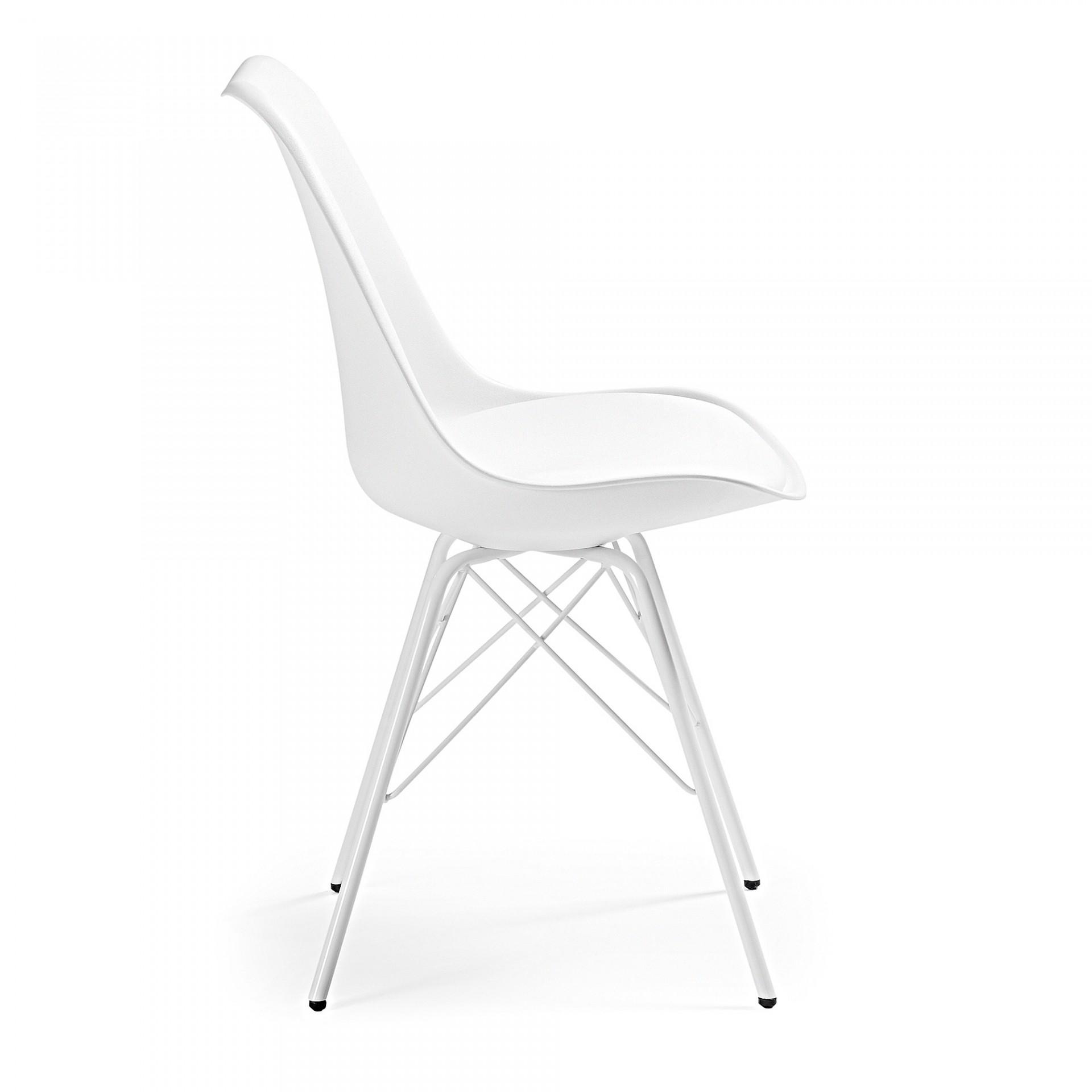 Cadeira Rafe, assento acolchoado