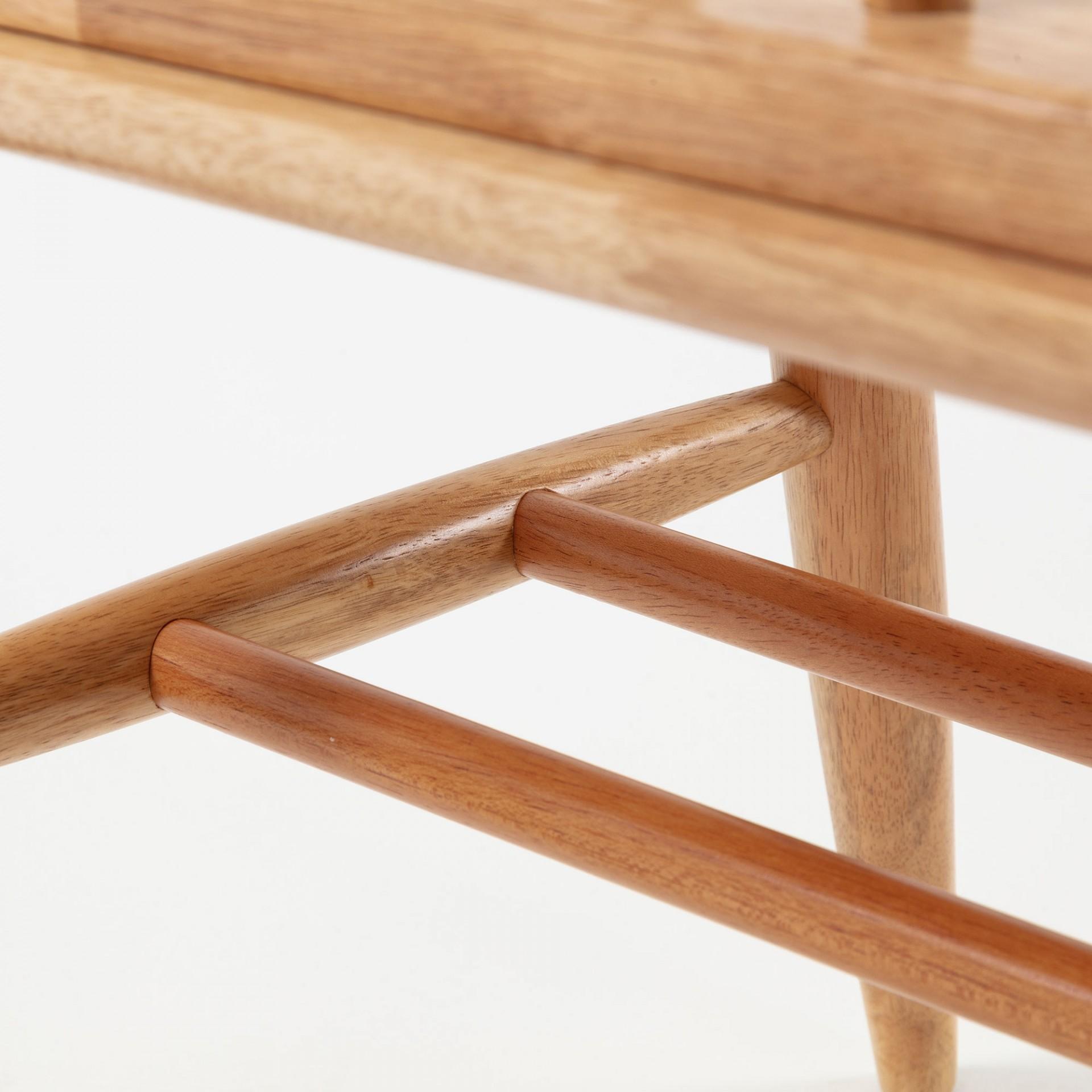 Banco Lover, 2x lugares, madeira de seringueira natural
