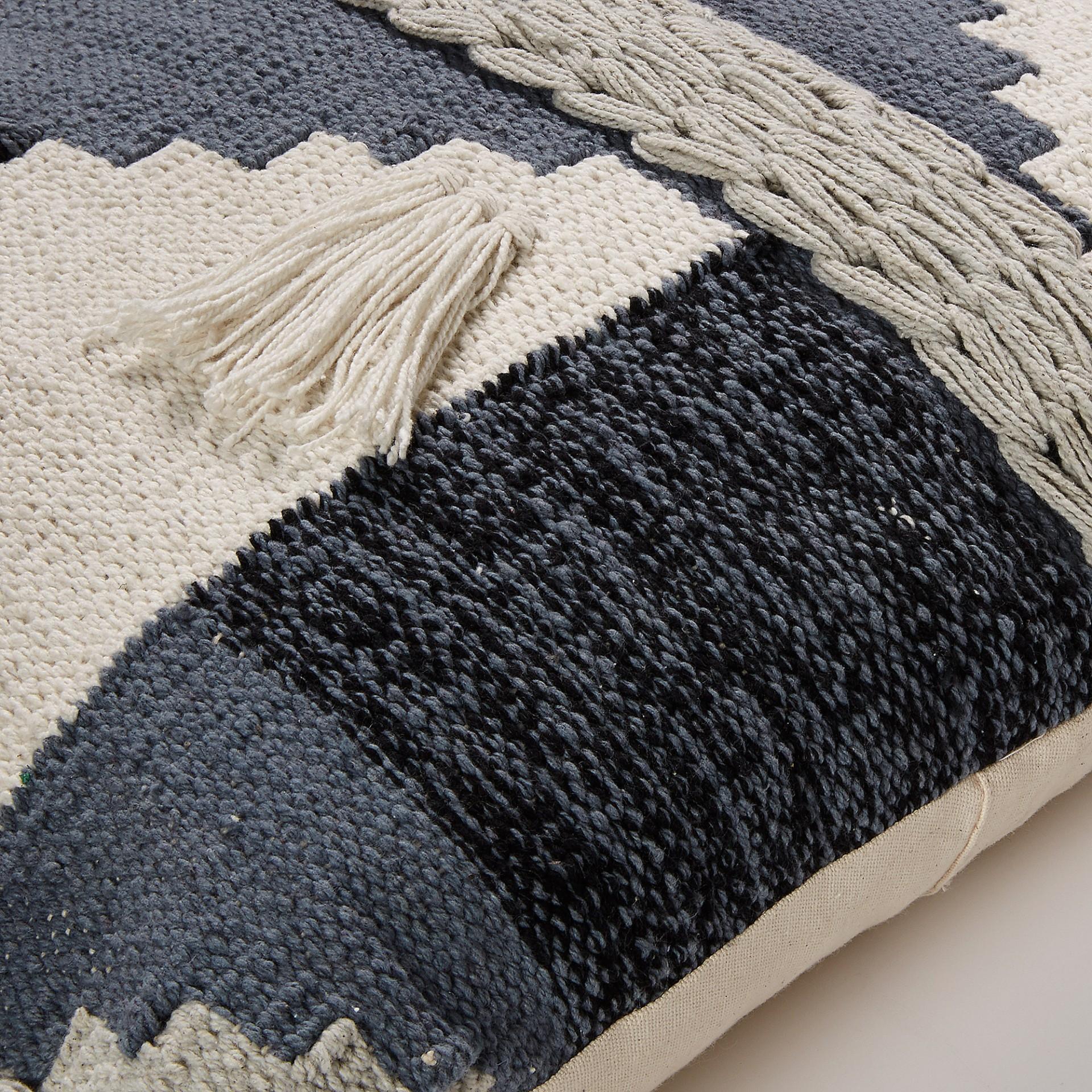 Capa de almofada Greg, padrão Jacquard, 45x45