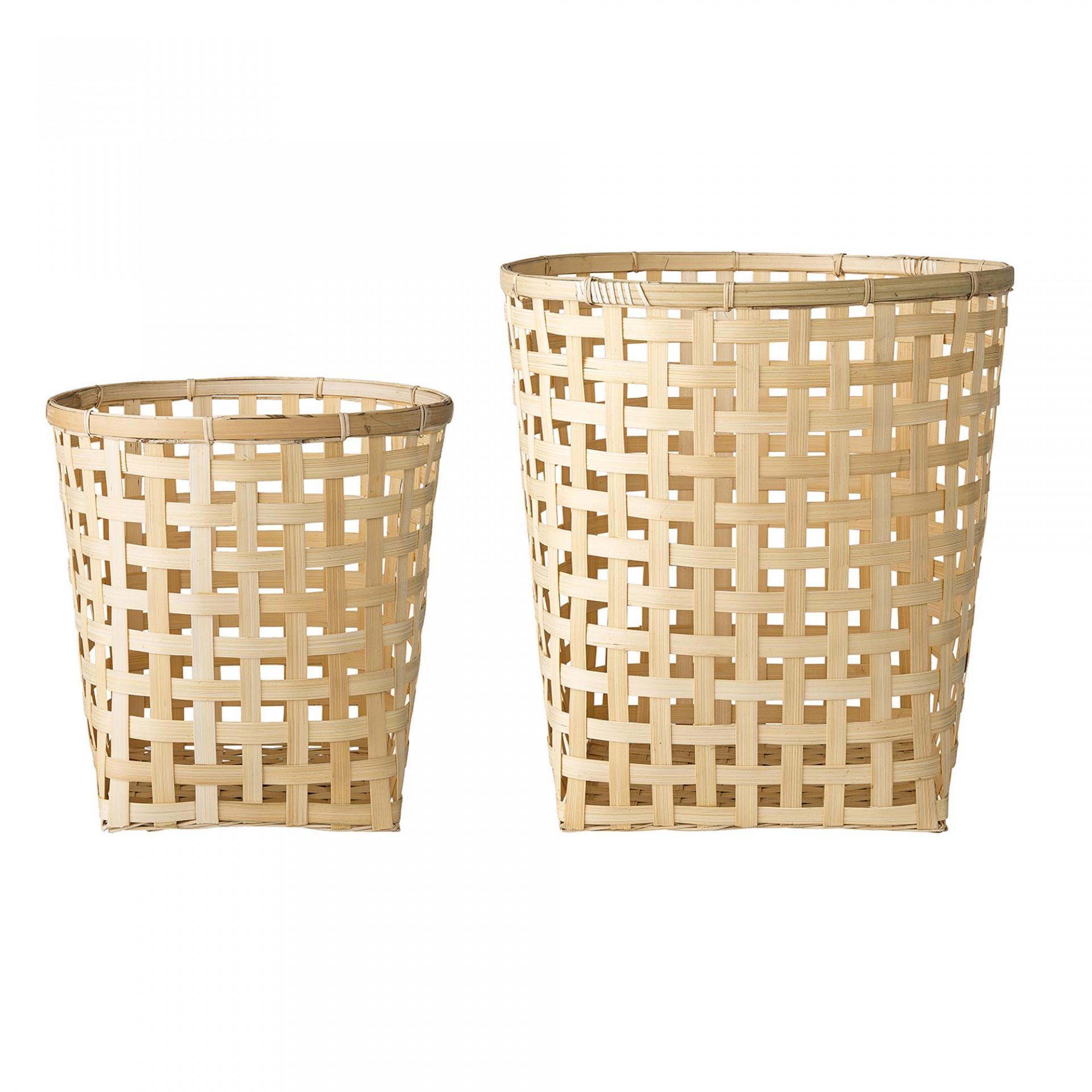 Cestas em bambu, (Conj.2)