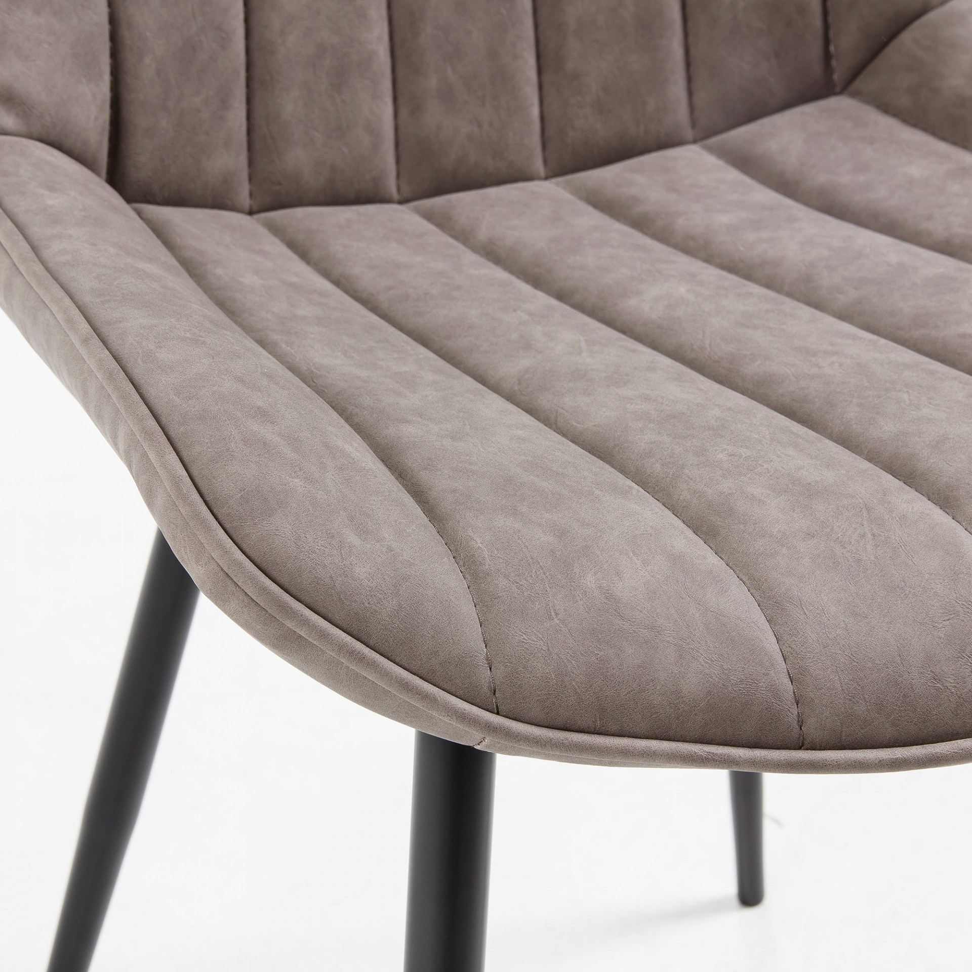 Cadeira Janise, pele sintética