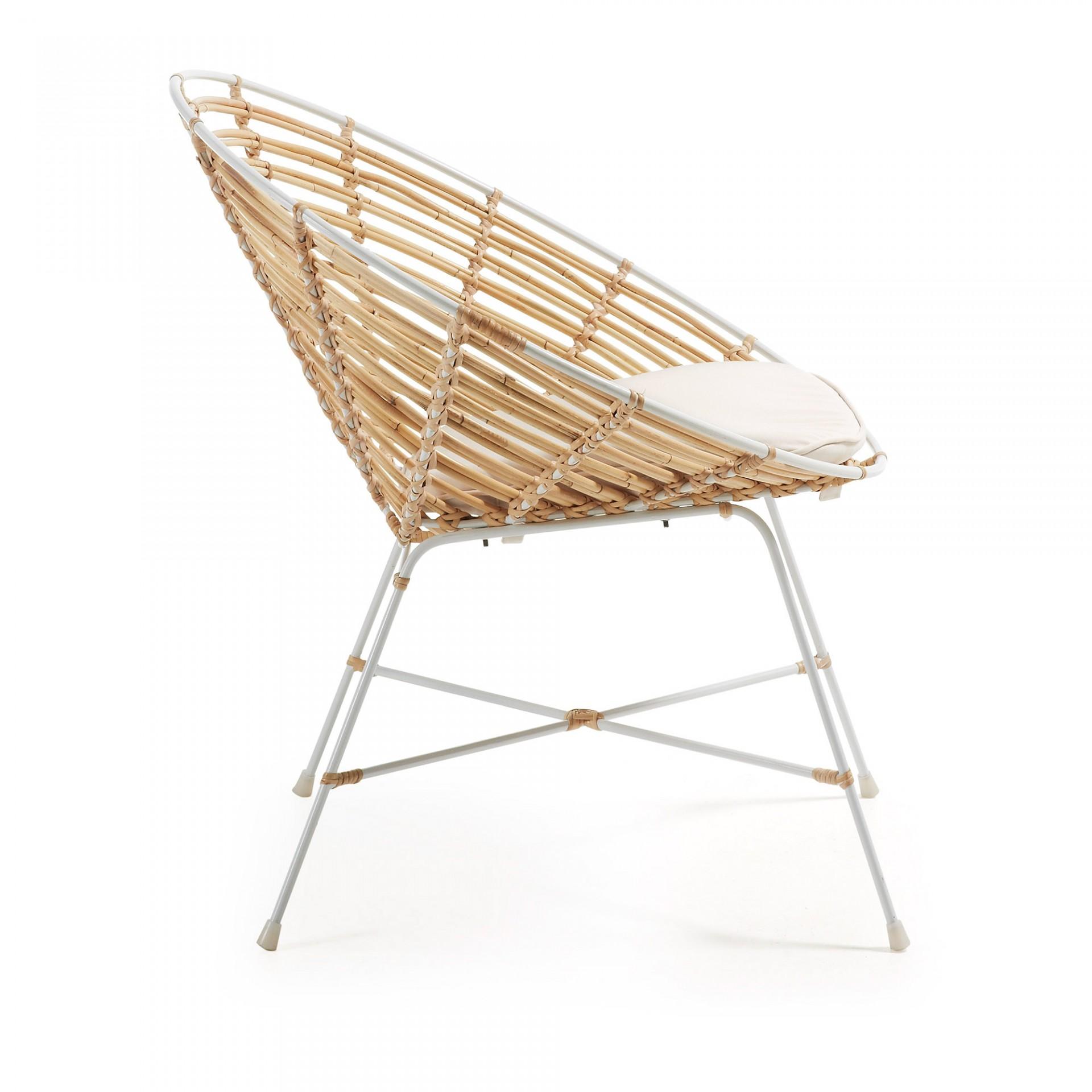 Cadeira Egy, rattan natural