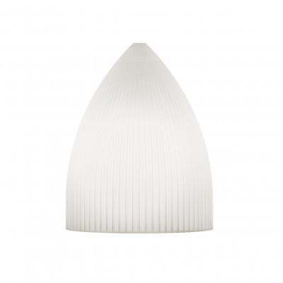 Candeeiro de tecto Riplles Slope, branco, Ø15x19