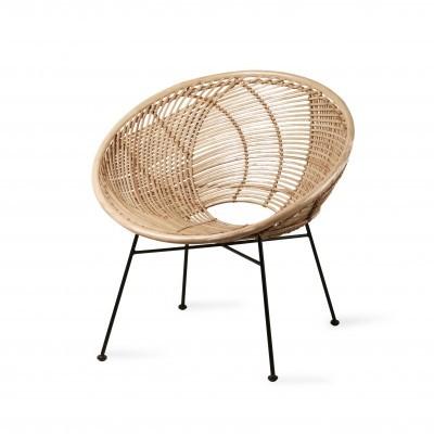 Cadeira Viteaux, rattan natural