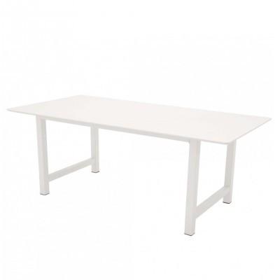 Mesa de jantar Count, MDF/metal, 220x100