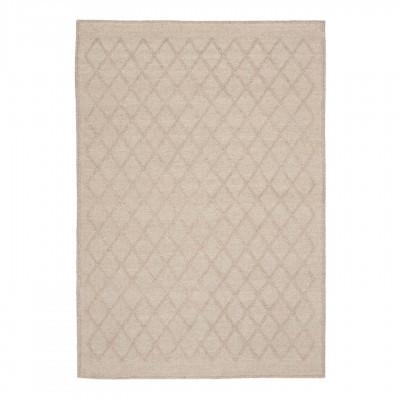 Tapete Syba, lã/nylon, bege, 230x160