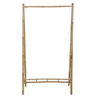 Porta cabides Rack, cana de bambú, 100x180
