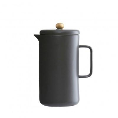 Cafeteira em porcelana, preto, Ø10X20