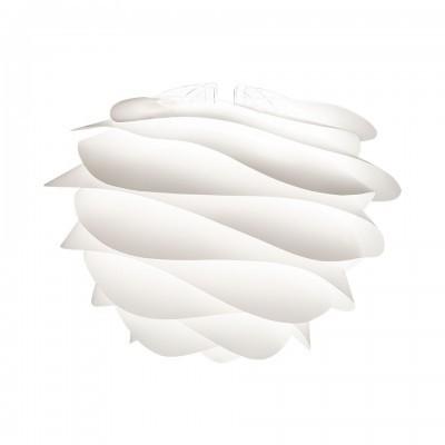 Candeeiro de tecto Carmina, branco, Ø48x36