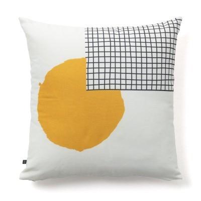 Capa de almofada Naty, algodão, 45x45