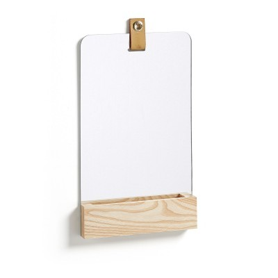 Espelho Bren, madeira, 38x23