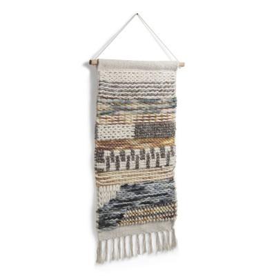 Macramé Essi, algodão/lã, multicolor, 70x40