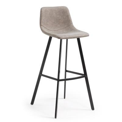 Cadeira de bar Alive, pele sintética, 80cm