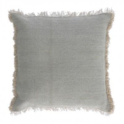 Capa de almofada Camil, cinza, 60x60
