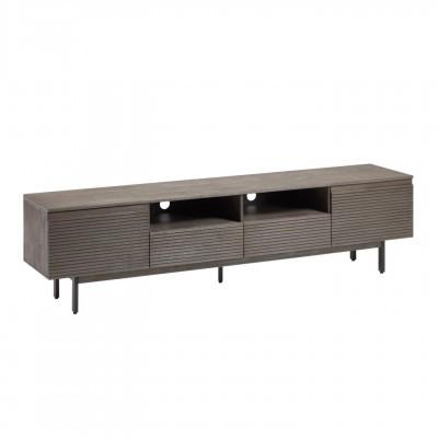 Móvel TV India, madeira de acácia, 210x55
