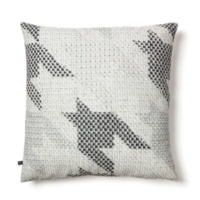 Capa de almofada Howi, branco/cinza, 45x45