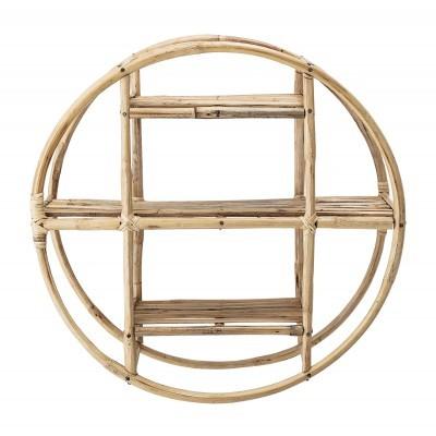 Estante de parede Sia, cana de bambú, Ø52x20