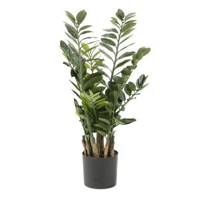 Smarag artificial, vaso de plástico, 55x100