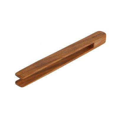 Pinça de cozinha Nilia, madeira de acácia, 30x2,5