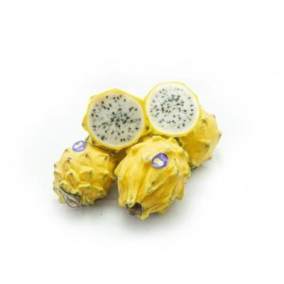 Pitaya Amarela Polpa Branca