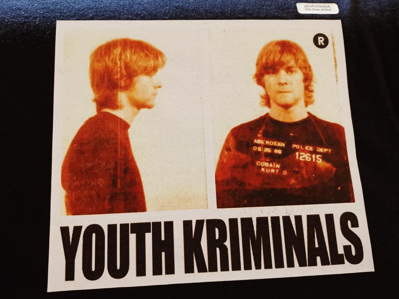 T-SHIRT Youth Kriminals (KURT COBAIN)