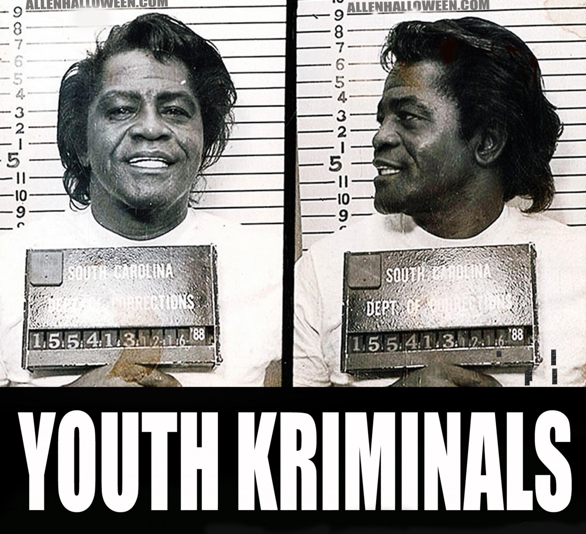 T-Shirt Youth Kriminals (James Brown)