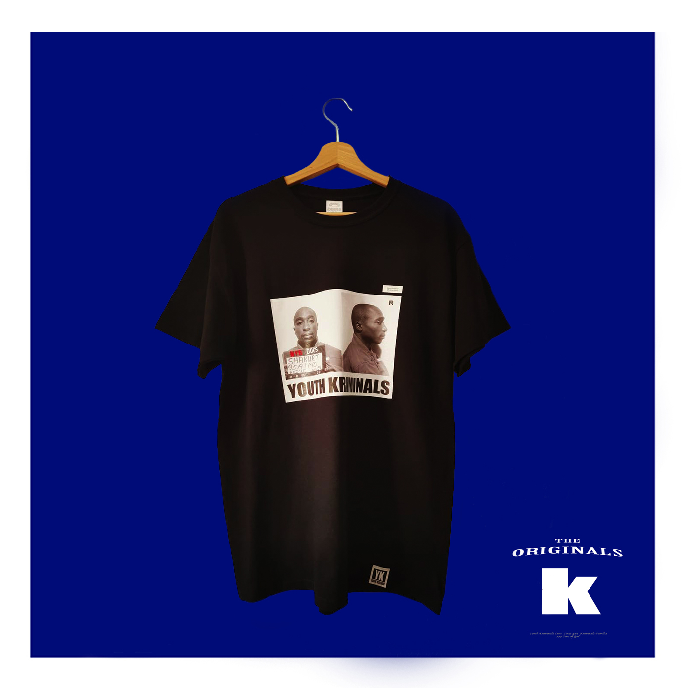 T-Shirt Youth Kriminals (2 Pac)