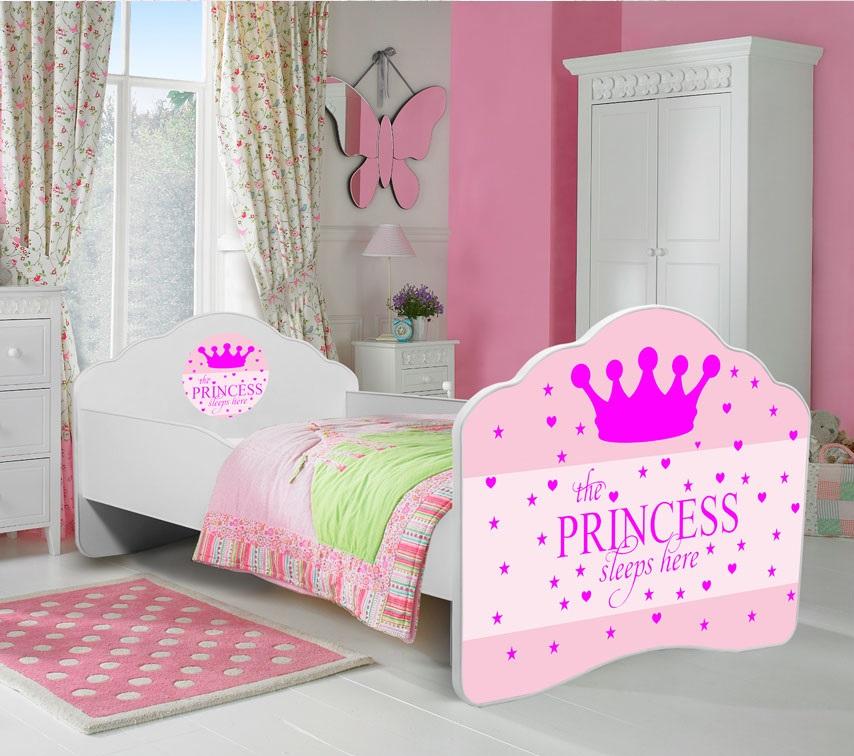 Cama de criança Princess 140x70