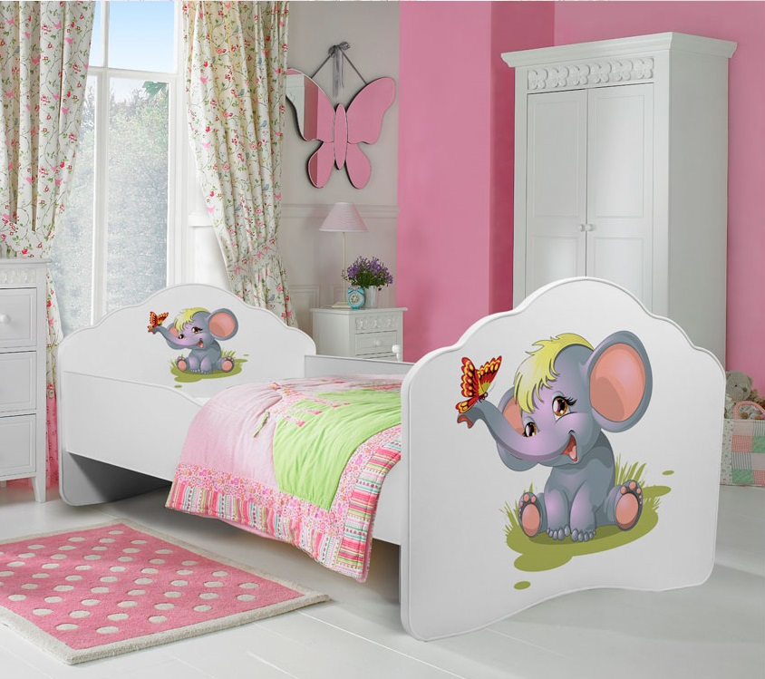 Cama de criança Dumbo 140x70cm