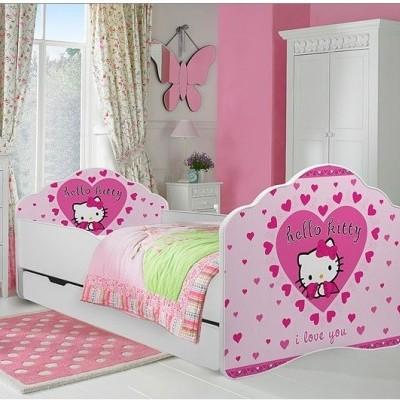 Cama de criança Hello Kitty